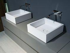 - Lavabo da appoggio in marmo di Carrara BLOKKO - Antonio Lupi Design®