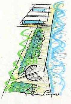 Tadao Ando Sketches  #ando #architecture #tadao Pinned by www.modlar.com