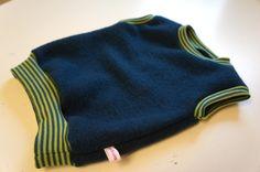 Kinderkleidung - Pullover aus Wollwalk Gr. 62-116 - ein Designerstück von luettunluett bei DaWanda