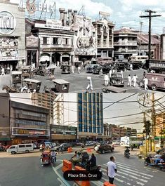 PLAZA STA CRUZ AREA   *During American colonies before Battle of Manila WWII Location: Santa Cruz, Manila Philippines Wayback 194O's Senior Citizen Humor, Filipiniana, Manila Philippines, Old Skool, Monuments, New Pictures, Old Photos, Wwii, Colonial