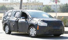 Possible #Dodge Grand Caravan Prototype Spotted in the Wild