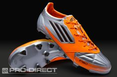 adidas Football Boots - adidas F50 adizero TRX FG Leather - Firm Ground - Soccer Cleats - Silver-Infrared