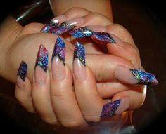 Sculptured nails x