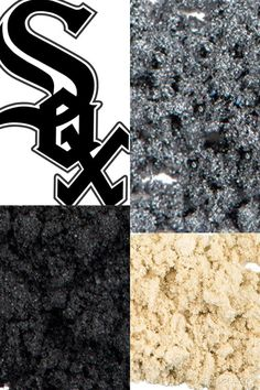 Support your favorite team with Younique Moodstruck Mineral Eye Pigments! Chicago White Sox  www.makeuppizzazz.com