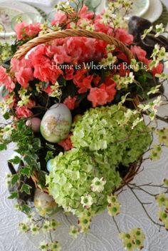 pretty Easter arrangement