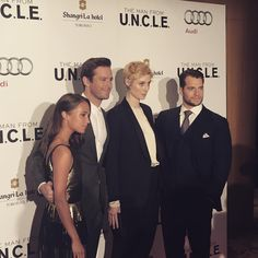 Kick off to the Toronto premier @themanfromUNCLE