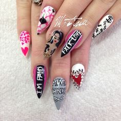 .@nailsbymztina | Webstagram