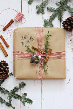 christmas + gift wrap
