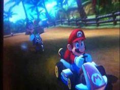 Luigi vs Mario en Mario Kart 8 - La mirada, la música, maravilloso!