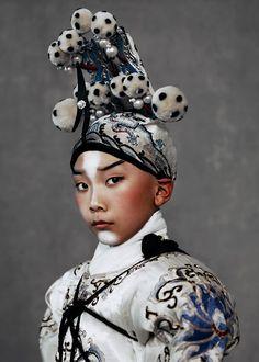 The Peking Opera Kiki Xue Harper's Bazaar   Lancia TrendVisions