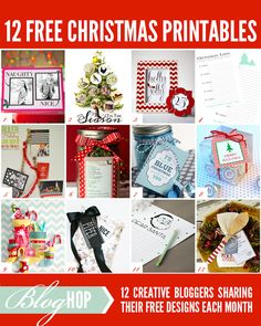 12 Fabulous Holiday Printables :: Dear Santa Letter designed by The TomKat Studio #freeholidayprintables
