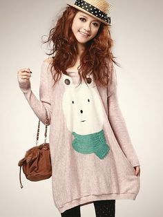 Cute and wide dress for winter <3