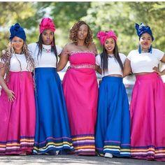 Pedi Traditional Attire, Traditional Clothes, Traditional Wedding, African Print Fashion, African Prints, African Fashion Traditional, African Patterns, Wedding Planning, Wedding Ideas
