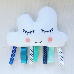DIY Raining Cloud Sensory Toy   Nursery Ideas   Sewing for baby -Mamma Mode