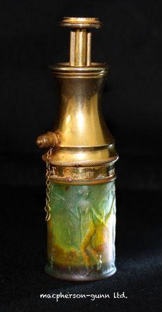 Rare Antique C 1910 R. Lalique..Le Parisien..BE.S.G.D.G Perfume Bottle..France