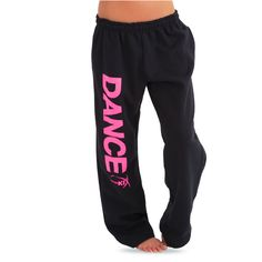 Just For Kix Dance Sweatpant : GAR-266 ($23) ❤ liked on Polyvore