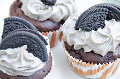 Receta de Cupcakes de chocolate y Oreo con Thermomix | La Comunidad Velocidad Cuchara