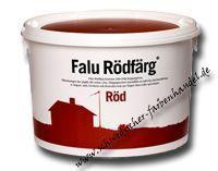 Falu Rödfärg 10 Liter (12kg) - Artikeldetailansicht - Schwedischer Farbenhandel - Schwedenrot und co.