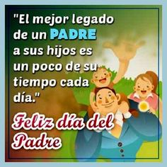 Frases dia del padre 2019 originales | El Banco de IMAGENES GRATIS Dog Treat Recipes, Healthy Dog Treats, Message For Father, Papa Quotes, He Day, Homemade Dog, Happy Father, Happy Day, Beautiful Images