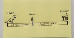 Work week timeline.