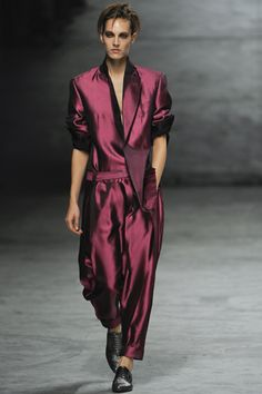 Haider Ackermann Spring 2012 Ready-to-Wear Collection Slideshow on Style.com