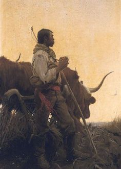 Harvey Dunn The Ploughman Oil Painting Reproductions for sale Frederic Remington, Native American Art, American Artists, Native Art, History Of Illustration, American Illustration, Illustration Styles, Vintage Illustrations, Illustration Artists