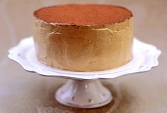 A quiet seductress....Sour Cream Mocha Cake