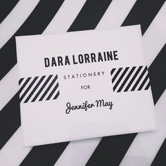 #stationery so special it comes in a personalized jewelry box!hope you're having a wonderful day! #DaraLorraineStationery #DaraLorraine To order wonderful custom stationery visit www.daralorraine.net