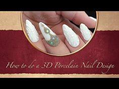 Purchase 3D gels: Bundle Monster: http://www.bundlemonster.com/4pc-color-3d-nail-art-cabochon-molding-gel-pot-sets.html ReformA 3D Elastic Gel: http://www.sh...