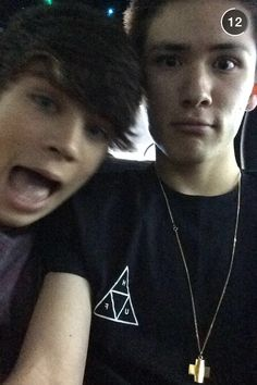 Hayes Grier and Carter Reynolds - Snapchat