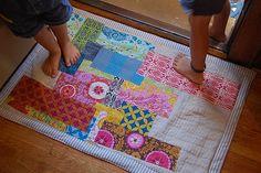 Patchwork Rug/ Good Folks Fabric