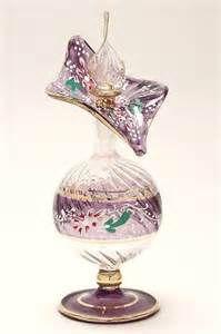 Glass Art Egyptian Perfume Bottle <3