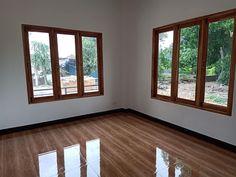 บ้านชั้นเดียวหลังคาทรงปั้นหยา ขนาด 2 ห้องนอน งบก่อสร้าง 795,000 บาท | ดูไอเดียบ้าน Small House Design, My House, Windows, Design For Small House, Window, Tiny House Design