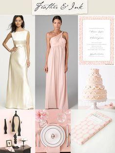 Blush Pink and Grey Wedding   ... Timer You Won't Mind Having at Your Wedding! » Blush Pink-&-Grey