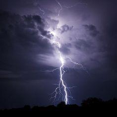 Lightning Bolt Strike 2 by SERHII KUCHER FINE ART PHOTOGRAPHY.   #SerhiiKucherFineArtPhotography #Lightning #Storm #Weather #Electricity #ArtPrints #HomeDecor