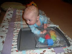 Fun for 5 and under: Infant Sensory Play