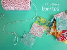 little strings of Cheer {how to's}