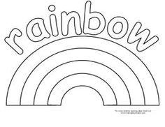 Fruit Loop Rainbows for Weather Unit. FREE RAINBOW