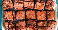 These brownies are as easy as 1,2,3,4.