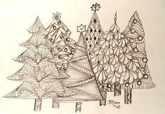 Weihnachtsbäume, 2014, Zia