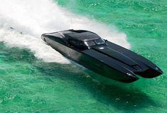 2012 Corvette Boat | ... | 2012 ZR48 MTI, Corvette-inspired superboat, Chevrolet Corvette - Pierre Casiraghi, perfect conditions in the Caribbean to get a Mojito.