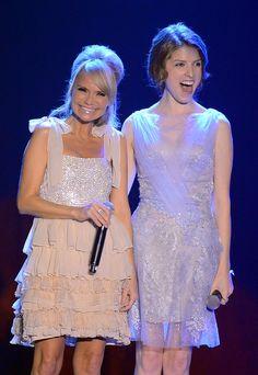 Kristen Chenoweth, Anna Kendrick. Love these two!