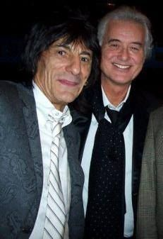 Ronnie Wood & Jimmy Page: