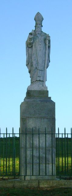 Statue of St. Patrick at the Hill of Tara!