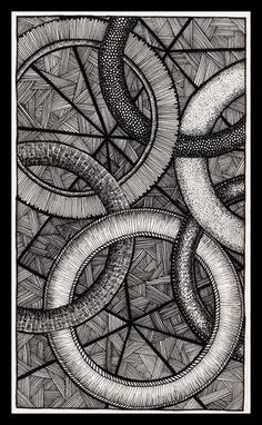Linked by Itsuo on DeviantArt Zentangle Drawings, Zentangle Patterns, Art Drawings, Cloud Drawing, Book Drawing, Mandala Design, Mandala Art, Stippling Art, Anatomy Art
