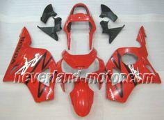 Carenado de ABS de Honda CBR900RR 954 2002-2003 - Rojo