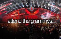 attend the grammys #bucketlist