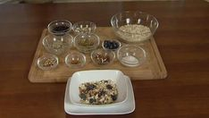Healthy Homemade Cereal: 2 cups organic rolled oats  uncooked 1/2 cup raisins or dried unsweetened fruit of choice 1/4 cup unsweetened shredded coconut 1/4 cup seed...