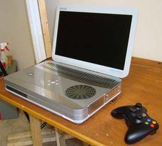 Xbox 360 slim portable laptop