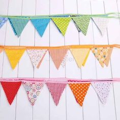 Buy 12 Colorful Flags Fabric Bunting Pennant Flags Party Decoration Banner Christmas Party Supplies Events Wedding Decoration at Wish - Shopping Made Fun Fabric Flag Banners, Pennant Flags, Fabric Bunting, Bunting Banner, Flag Garland, Party Decoration, Outdoor Banners, Party Banners, Handmade Flowers